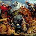 Рубенс, охота на тигров и львов